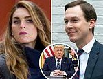 Hope Hicks pushed Donald Trump to take control of coronavirus briefings