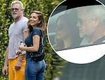 Eric Dane steps out with a mystery brunette during coronavirus lockdown
