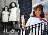 Dame Joan Collins says the coronavirus lockdown reminds her of the Blitz