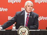 Vice President Mike Pence is self-isolating after press secretary tested positive for coronavirus