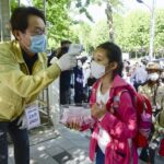 Hundreds of schools in South Korea reopened, only to close again as the country sought to avoid a spike in coronavirus cases