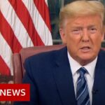 Coronavirus: Five takeaways from Trump's Oval Office address – BBC News
