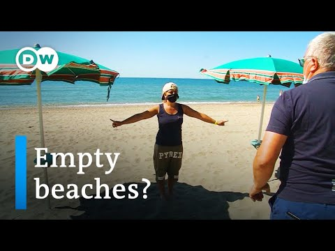 Italy gears up for a summer of empty beaches after coronavirus lockdown   Focus on Europe
