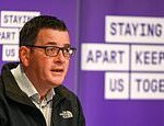Daniel Andrews launches Victoria's inspection blitz over workplace COVID-19 fears