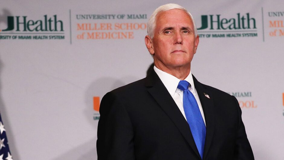 Doctors behind viral COVID-19 misinformation video met with Vice President Pence