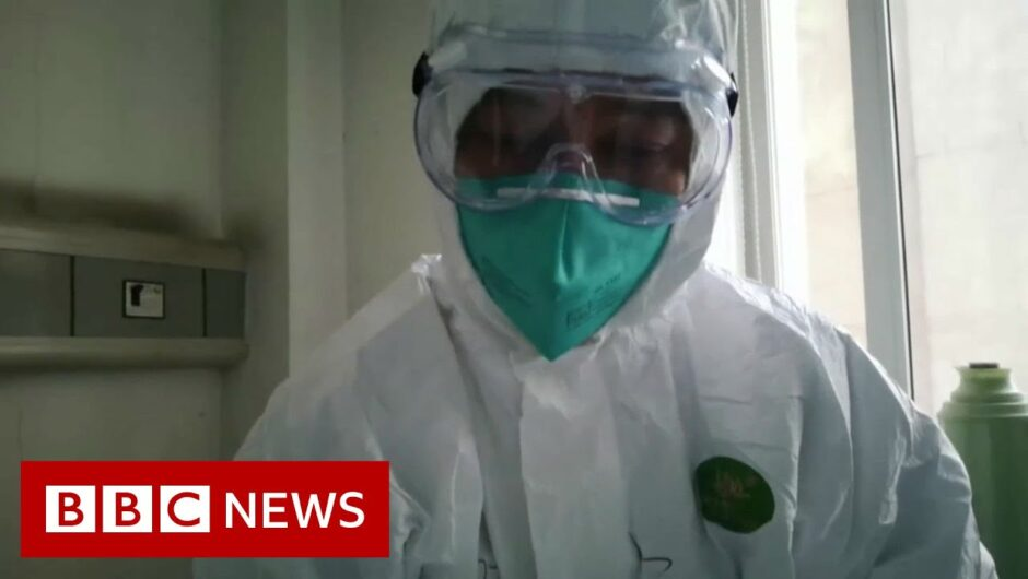 Coronavirus: British couple on cruise ship 'test positive' – BBC News