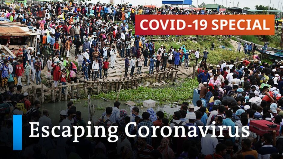 Why the coronavirus pandemic is forcing people out of the cities   DW News
