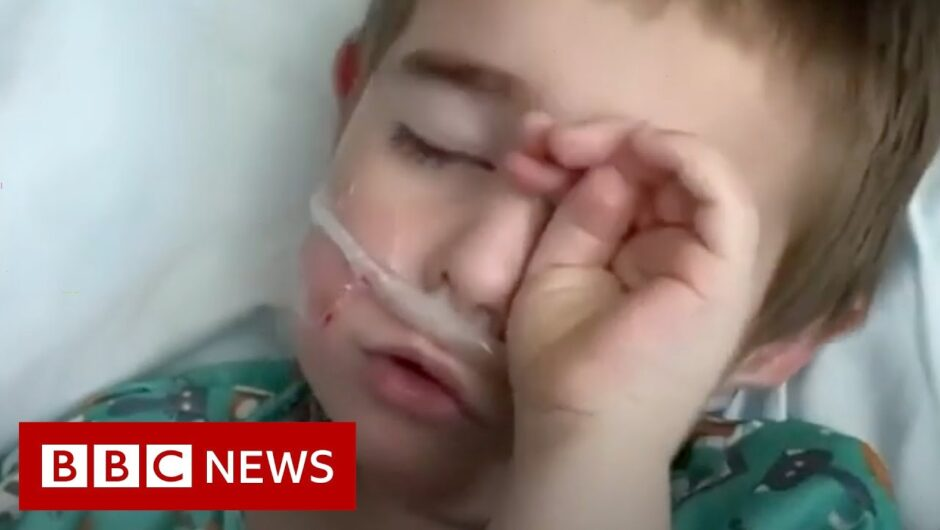 Coronavirus: When your child's in intensive care with Covid-19 – BBC News