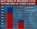 Scientists claim third of UK covid-19 victims in July and August died from other causes