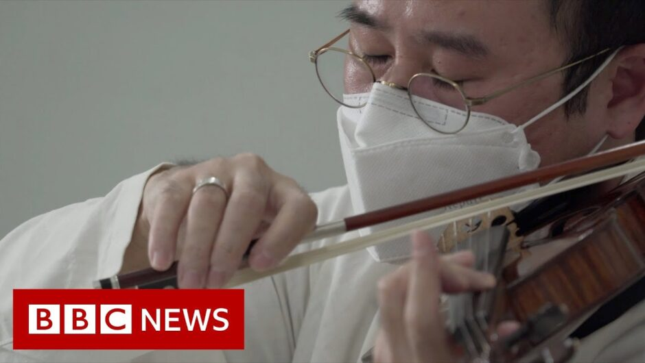 Classical music for coronavirus patients in South Korea – BBC News