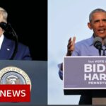 US Election 2020: Obama and Trump in political brawl on campaign trail – BBC News