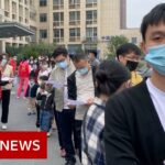 Queues in China for experimental Covid-19 vaccine – BBC News