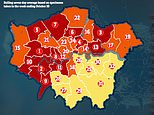 How Devon, Oxford and Coventry all have higher Covid-19 infection rates than London