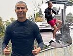 Cristiano Ronaldo debuts new buzzcut in quarantine… after footballer tested positive for COVID-19