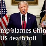 Trump lays blame on China as the US records more than 200.000 COVID deaths | DW News