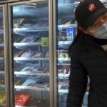 China's claims of coronavirus on frozen foods