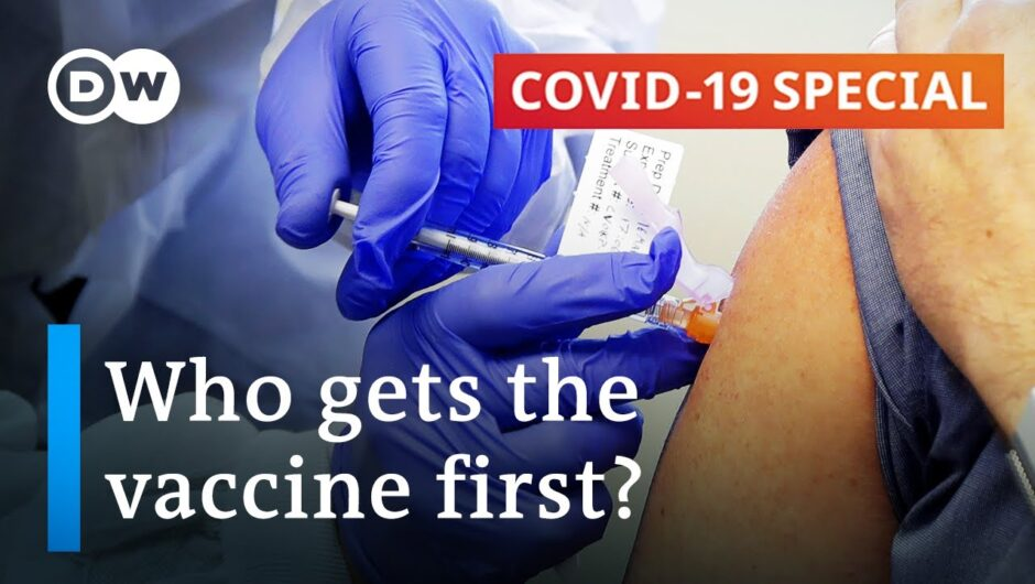 How should coronavirus vaccines be distributed?   COVID-19 Special
