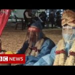 The couple who got married in PPE – BBC News