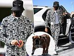 Lewis Hamilton arrives at the Yas Marina in Abu Dhabi as Formula One star returns from coronavirus