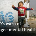 Dire conditions lead to mental health decline in Greek refugee camps | DW News