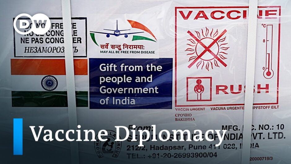 India donates COVID-19 vaccines to neighboring countries  | DW News