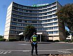 Melbourne Holiday Inn hotel at the centre of coronavirus outbreak is evacuated
