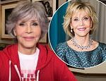 Jane Fonda, 83, says she is 'so happy' she embraced her natural grey hair and got Covid-19 vaccine