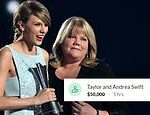 Taylor Swift and her mother submit joint $50,000 donation to widow who lost husband to COVID-19