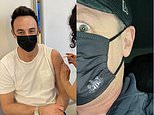 'We're jabbin!': Ant McPartlin and Declan Donnelly, both 45, receive first dose of Covid-19 vaccine