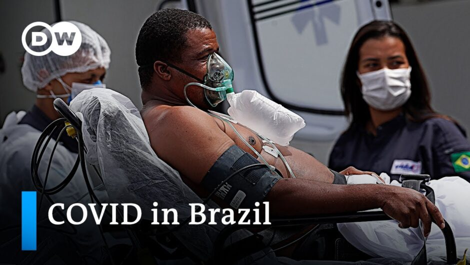 Brazil's intensive care units fill up with young COVID patients   DW News
