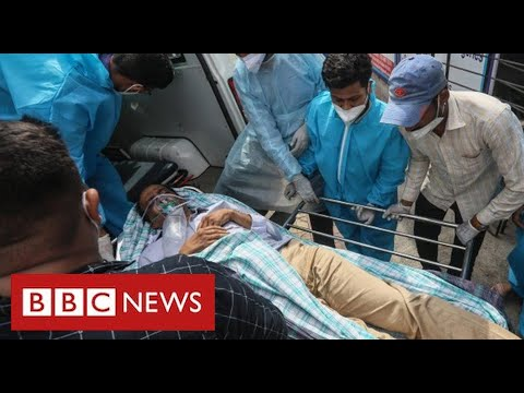 India's Covid frontline: one hospital's desperate struggle to save lives – BBC News