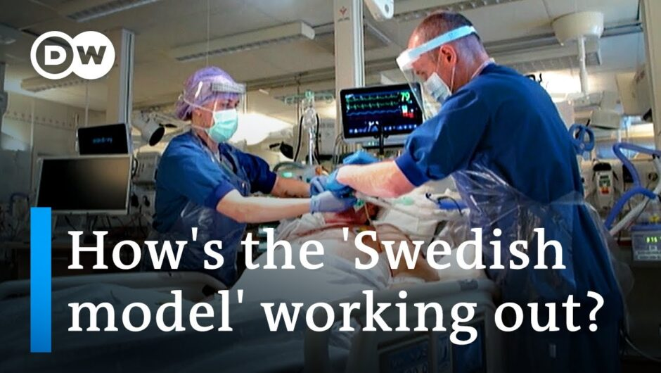 Is Sweden an oasis of freedom in a desert of COVID restrictions?   DW News