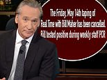 Bill Maher tests POSITIVE for Covid-19 ahead of canceling this week's episode of Real Time