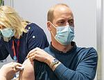 Prince William receives his first dose of the Covid-19 vaccine