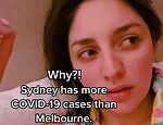 NSW resident shares her confusion after Sydney recorded more Covid-19 cases than Melbourne