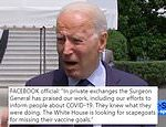 Facebook slams Joe Biden after he claimed they were 'killing people' with COVID-19 misinformation