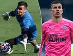 Newcastle goalkeeper Karl Darlow opens up on how Covid-19 battle saw him lose nearly TWO STONE
