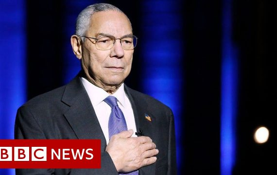 Colin Powell, former US secretary of state, dies of Covid complications – BBC News