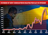 Sweden records 17 deaths from coronavirus – its lowest daily rise in a fortnight