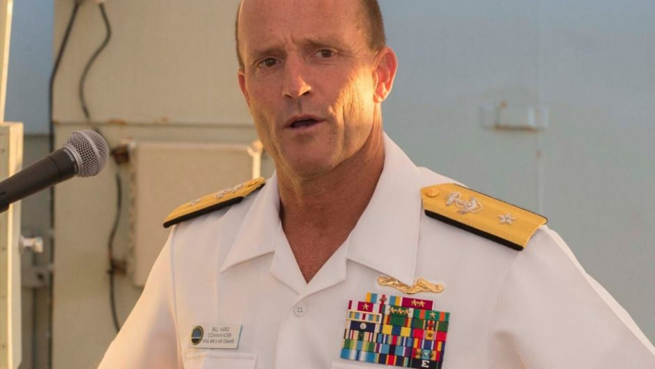 Navy admiral admits that morale has taken a hit after USS Theodore Roosevelt's coronavirus outbreak and commander firing