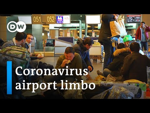 Coronavirus: Russia's ban leaves travelers stranded at Moscow airport | DW News