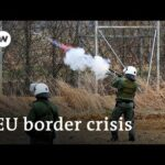 EU refugee crisis: Tensions high on Turkey's border with Greece   Focus on Europe