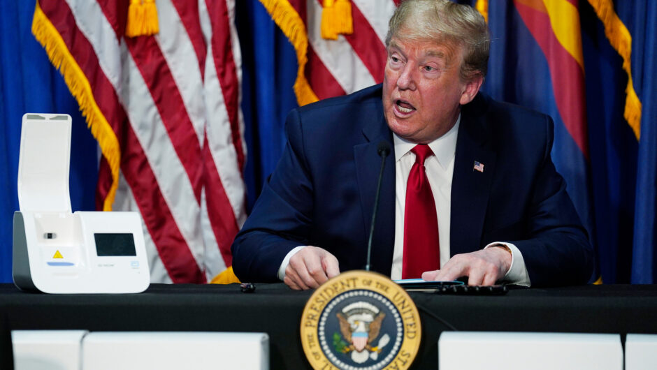 Trump wants coronavirus-hit companies to 'work it out' with creditors