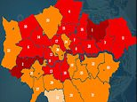 London is put on lockdown watch-list after a spike in Covid-19 infections and hospital admissions