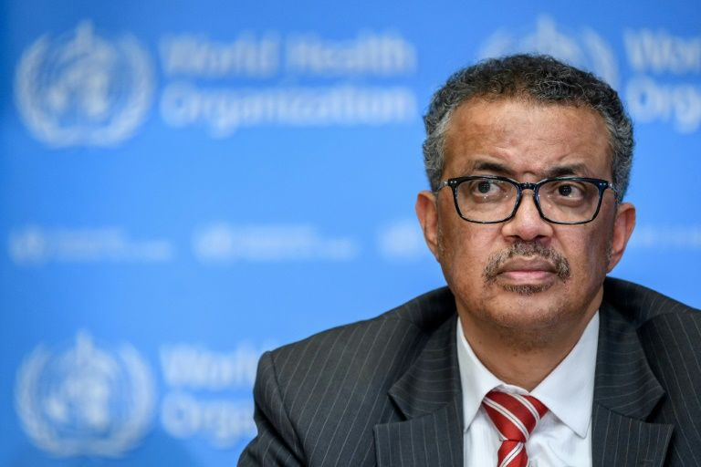 WHO chief in quarantine after contact tests positive for Covid-19