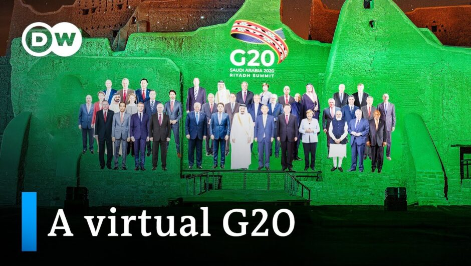 G20 2020: Coronavirus pandemic dominates Riyadh summit | DW News