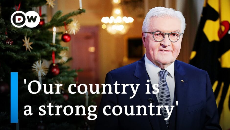 Steinmeier's Christmas message: There is 'light at the end of the tunnel'   DW News