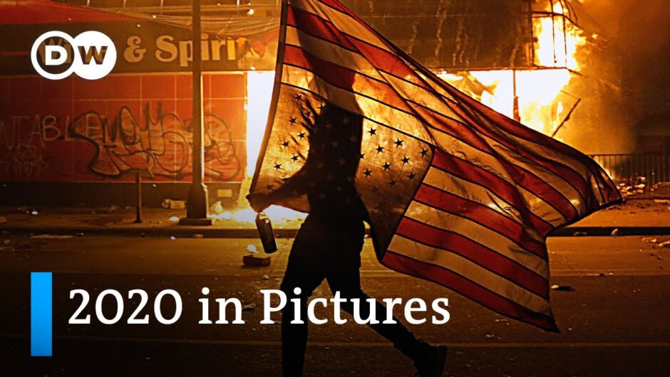 These pictures perfectly encapsulate what happened in 2020 | DW News