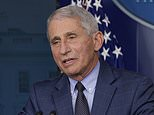 Dr Anthony Fauci accuses Britain of rushing to approve the Pfizer coronavirus vaccine too quickly