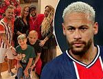Neymar 'hosts 500 PEOPLE at a five-day festive party complete' in coronavirus-hit Brazil